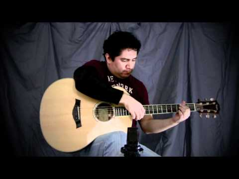 Antoine Dufour - Catching The Light - cover by Iker Cedeno