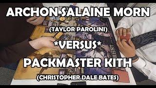 Archon Salaine Morn versus Packmaster Kith - Warhammer 40,000: Conquest