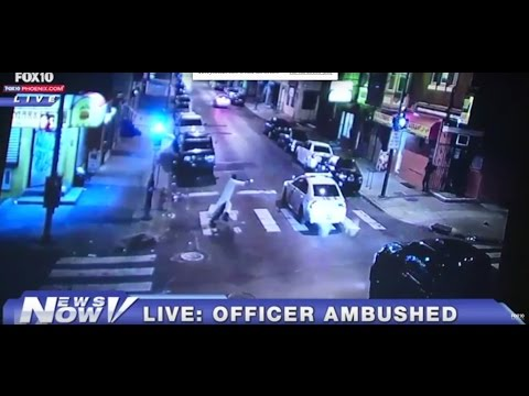 Gunman said he shot Philly cop 13 times for ISIS
