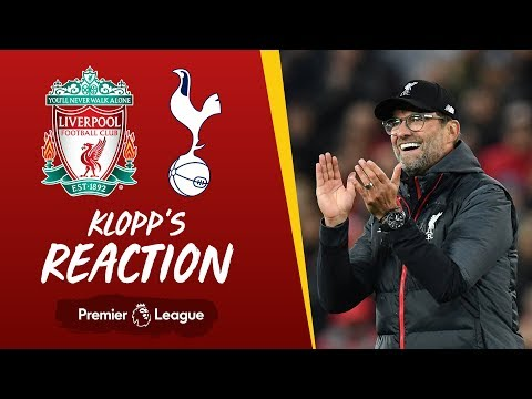 Klopp's Reaction: The performance today was really, really good | Liverpool vs Spurs