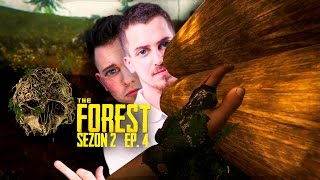 Drwale w pracy! :D | The Forest z Tybkiem [#4]