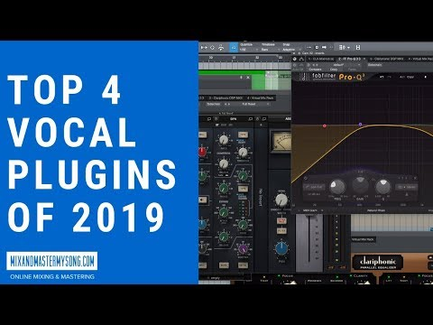 Top 4 Vocal Plugins Of 2019 - YouTube