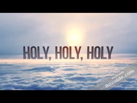 Holy Holy Holy - Jemuel Anderson and Oakwood Aeolians