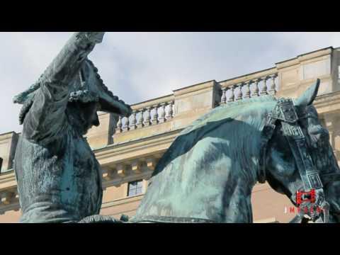 Gamla Stan  La Ciudad Vieja de Estocolmo Suecia  wmv