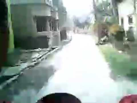 Motorcycle tour in HABRA city of North 24-Parganas, West Bengal,  INDIA