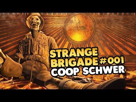 Let's Play Strange Brigade CoOp PC 👑 Harbins Ausgrabungsstätte #001 [PC Gameplay][Deutsch][German]