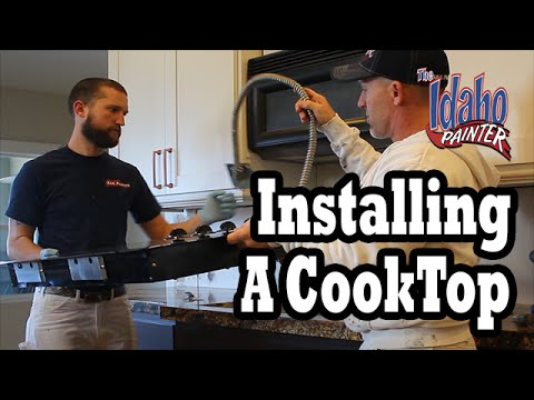 INSTALLING ELECTRIC COOKTOP.  DIY Range or Stove Top Installation Instructions.