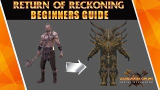 [Warhammer online: Return of Reckoning] Game basics/ players questions