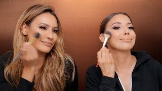 GET READY WITH US | DESI PERKINS x LUSTRELUX