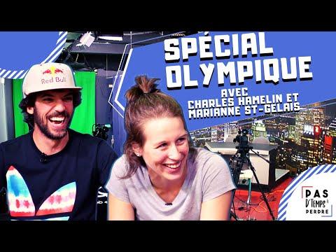 Pas D'Temps À Perdre - Spécial Olympique - Charles Hamelin vs Marianne St-Gelais