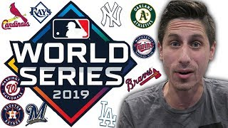 2019 MLB Postseason Predictions! 2019 WORLD SERIES Prediction
