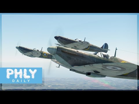 WE SHALL FIGHT IN THE AIR | Spitfire Defense Of Britain (War Thunder)