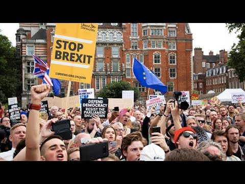 Johnson Shuts Down Parliament to Help Ensure No-Deal Brexit
