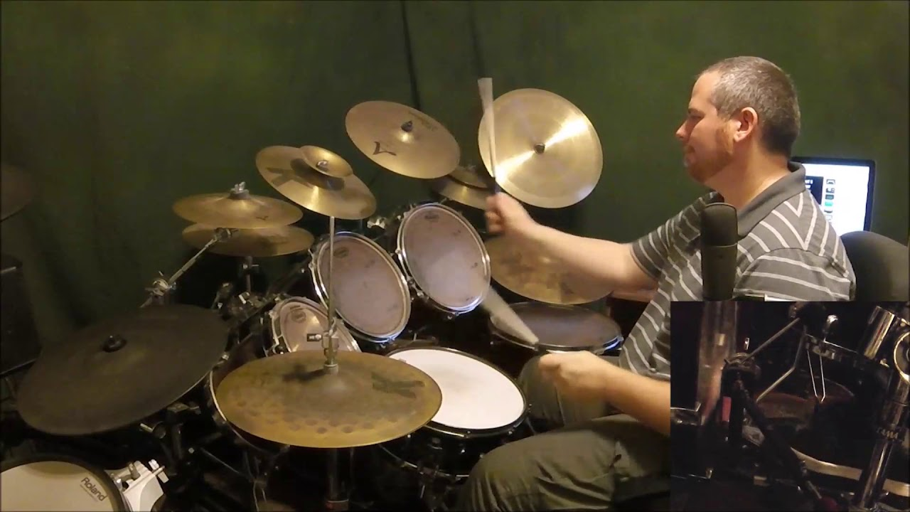 how to play heart shaped box on drums