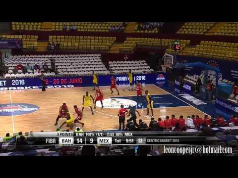 Leon Cooper Jr. Highlights CentroBasket 2016