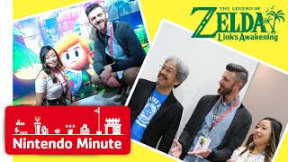 E3 Vlog Day 1 - Playing The Legend of Zelda: Link's Awakening - Nintendo Minute