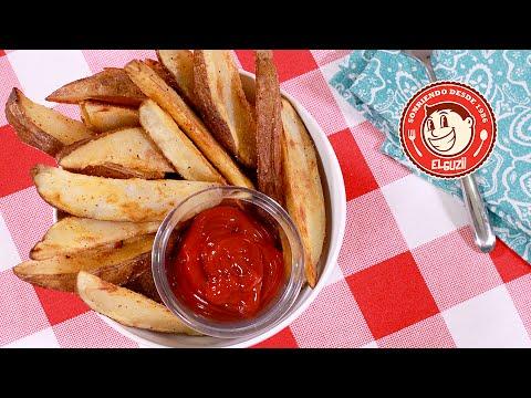 Cocinar papas fritas perfectas f cil y sencillo doovi - Cocinar calabaza frita ...