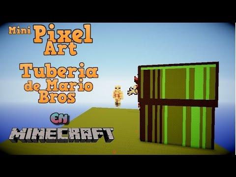 Pixel Art | Tuberia de Mario Bros | Difucultad:Facil