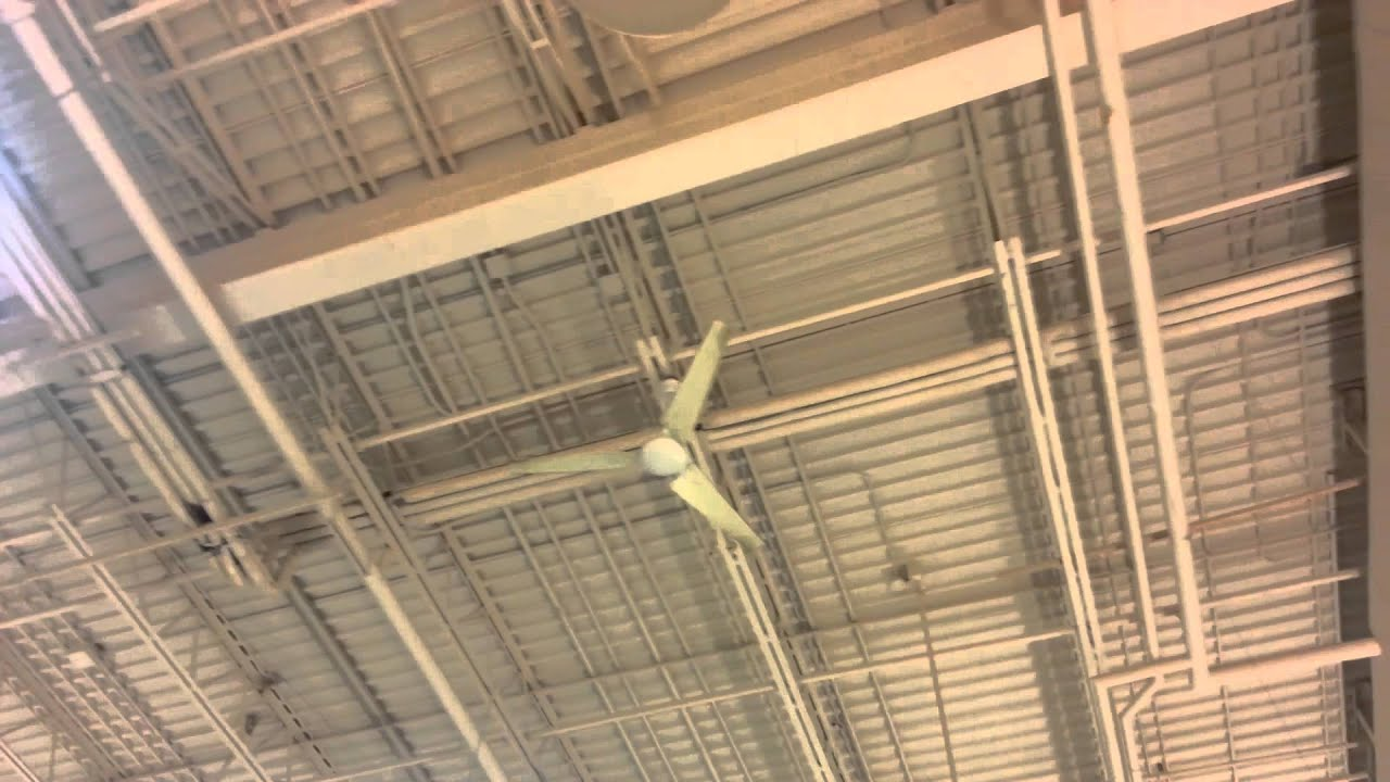 Hampton Bay Industrial Ceiling Fan: 60