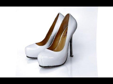 Белые лаковые туфли! Уход за лаковой обувью| #edblack