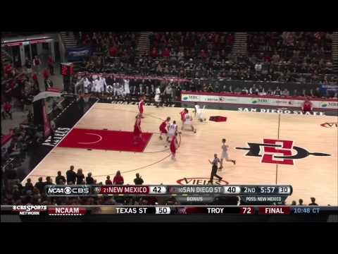Aztecs Incredible Comeback (19-1 Run) Win Mountain West Conference Title