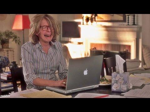 Diane Keaton Freaking Out