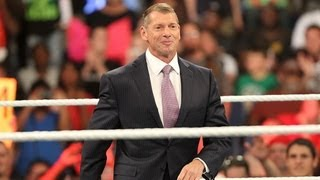 Mr. McMahon thanks the WWE Universe for Raw