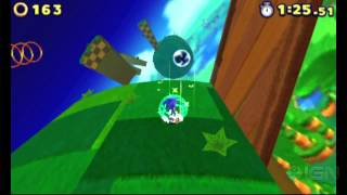 Sonic Lost Worlds Windy Hill Tutorial Gameplay