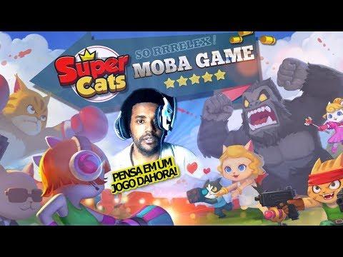 Super Cats: PENSA EM UM JOGO TOP! Cópia Mais Top de Brawstars para Android - Omega Play