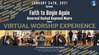 Sunday Virtual Worship Service: January 24th, 2021