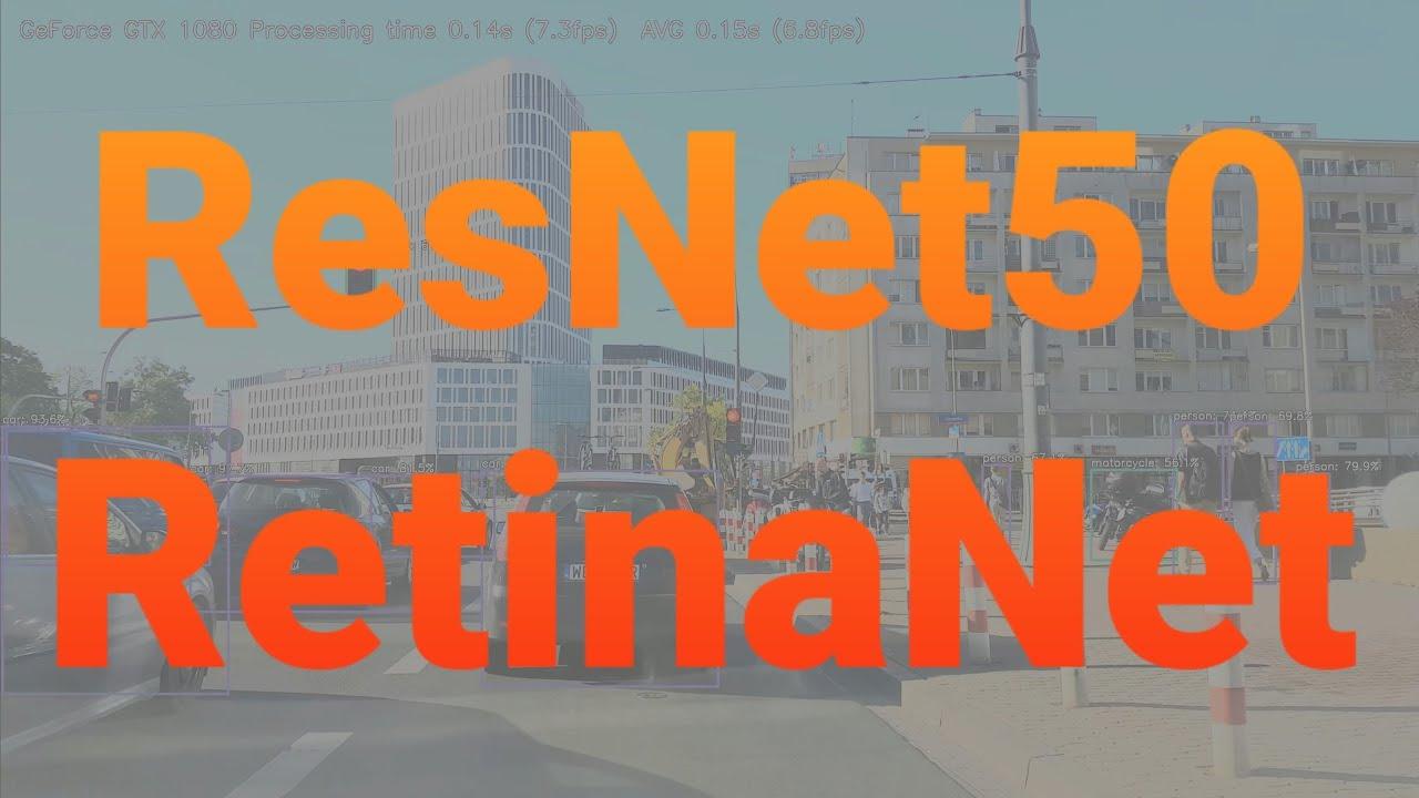 4K ResNet50 RetinaNet - Object Detection in Keras