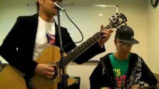愛很簡單 I'm yours cover 結他吉他自彈自唱 by Byron Lai & Nice Lai LIVE 陶喆 Jason Mraz