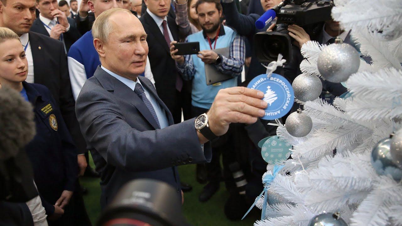 Путин и Мишустин исполняют желания детей. Ёлка желаний