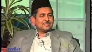 Interview Masood Ahmad Shahid sahib at Jalsa Salana Germany 2002