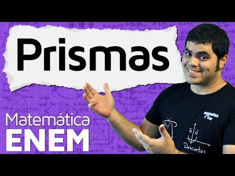Prismas - Área da Superfície e Volume de um Prisma | Matemática do ENEM