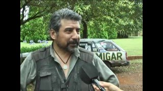 entrevista a Oscar Di Vincensi canal Puerto Rico Misiones  Arg