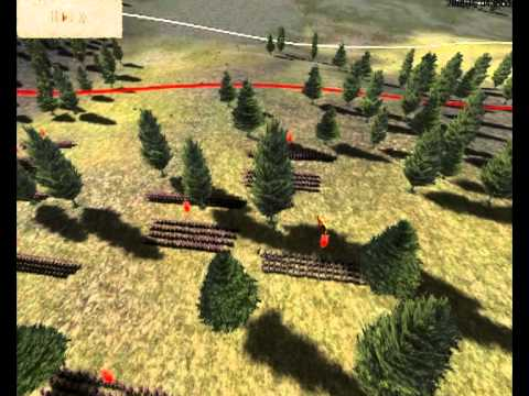 rome total war strategy formation win - YouTube