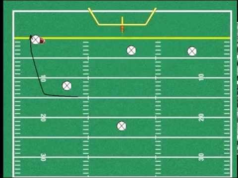 hqdefault flag football trick plays hook and ladder youtube