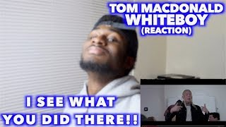 WHITEBOY - TOM MACDONALD   THERE'S TWO SIDES TO EVERY STORY    REACTION