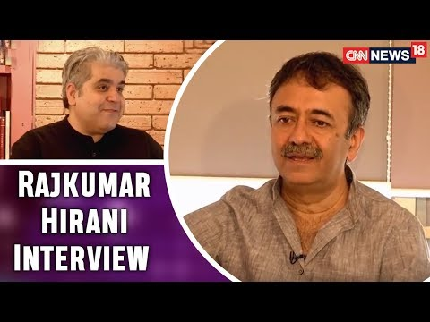 Rajeev Masand with Rajkumar Hirani @ RHF Office | Sanju Movie & More | CNN News18
