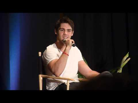 Vampire Diaries Convention Parsippany NJ Aug 18, 2012 Steven McQueen