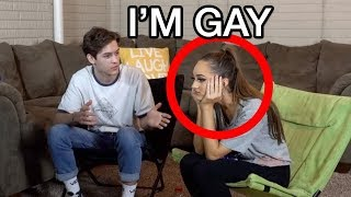 """I'M GAY"" PRANK ON MY GIRLFRIEND!!"