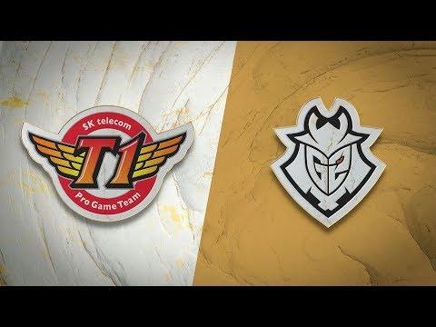 G2 eSports vs T1 vod