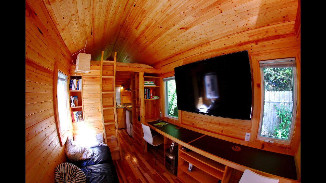 vagavond tiny house tour by wood saw youtube