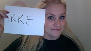 Video 41 Hvordan bruker vi IKKE på norsk. A1-B2 nivå