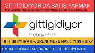 Gittigidiyor satış yapma-ürün yükleme, GittiGidiyor'a ilk ilanımızı verdik:EMBAL OrganikArı Ürünleri