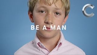 One Word: Be a Man (Men Ages 5-50 Respond)