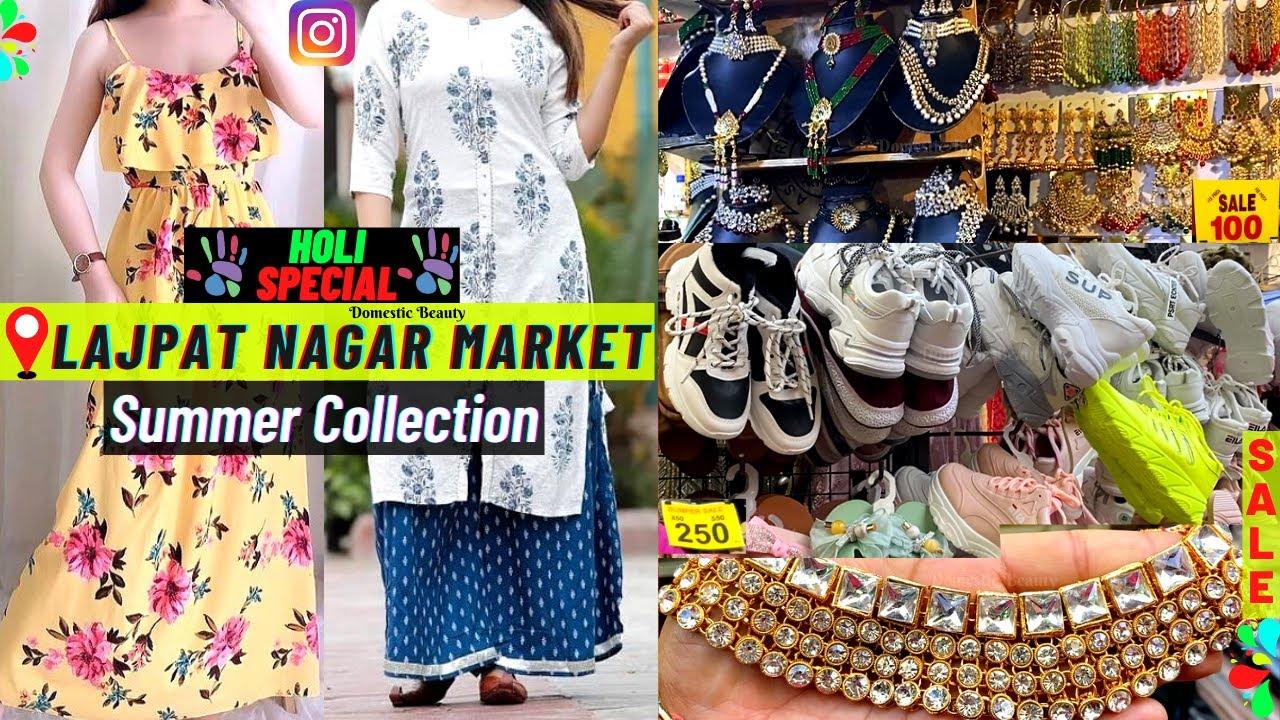 Lajpat Nagar Market Delhi   Summer Collection   Summer Tops, Dresses, Kurtis Starting from Rs 50/-