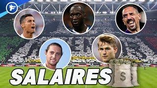 Les salaires XXL de CR7, Lukaku, Rabiot, Ribéry et de Ligt font parler | Revue de presse
