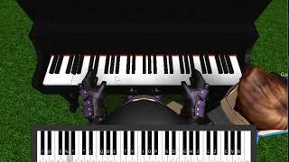 Roblox Piano| Marshmello - Alone| FULL| (Notes In The Description)